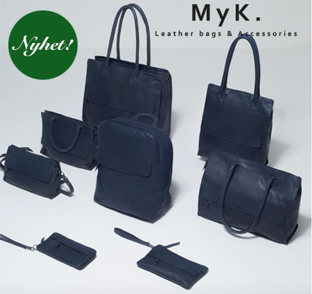 MyK Leather bags